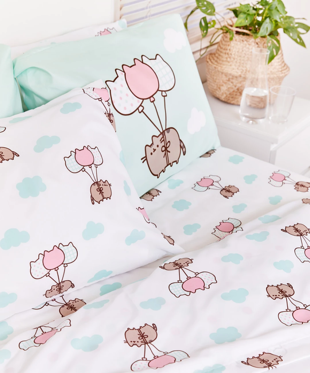 Pusheen Full/Queen Sheet Set (With images) Sheet sets
