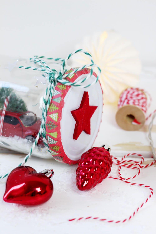 DIY Geschenke für Weihnachten: 3 originelle DIY-Ideen   Schneekugel ...