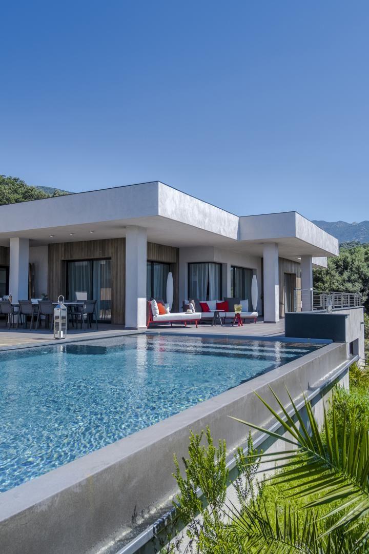 villas de luxe a louer propriano - domaine de cipiniello