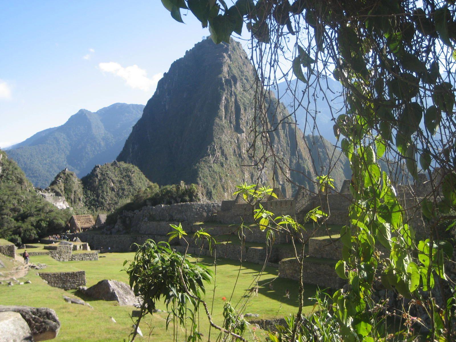 MACHU PICCHU (Peru).  Un lugar muy cerca del cielo con mucha historia.