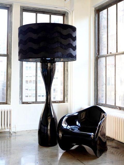 Tänk stort större störst – här är detaljerna som gör det! - Sköna hem Table lamp as big as a floor lamp?