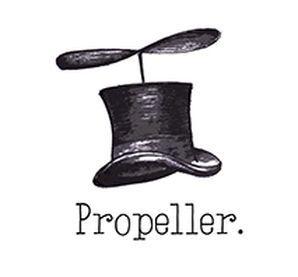propeller logo home antiek interieur vintage