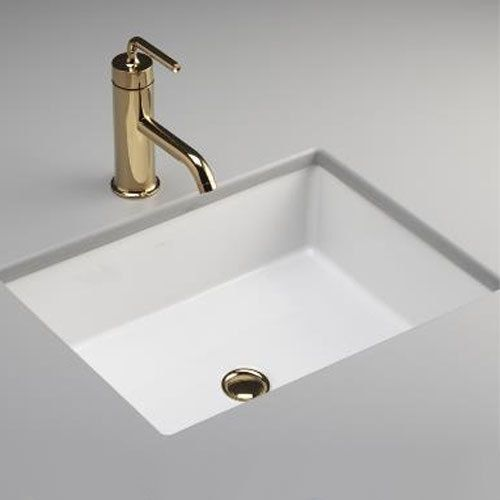 Kohler K2882 0 Verticyl Undermount Style Bathroom Sink White 19 13 16 X 15 5 8 X 6 3 4 133 45