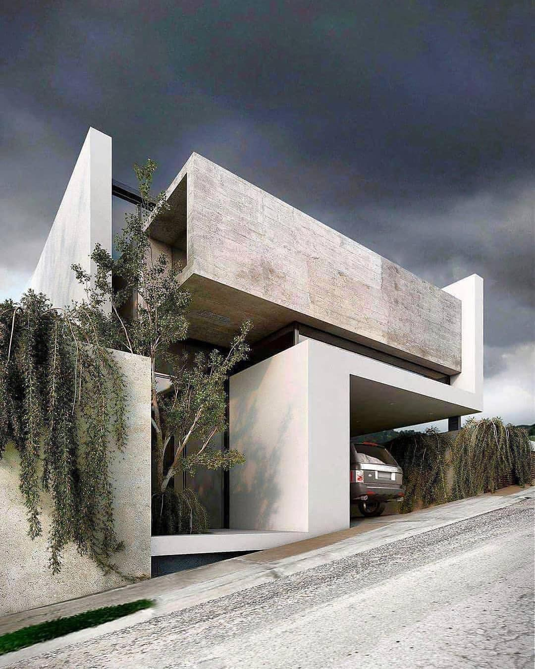Minimalist House 85 Design: Lomas House. By VISUARQ Studio 📐 #artsytecture ______ Welcome To The Page @artsytecture ! (710K