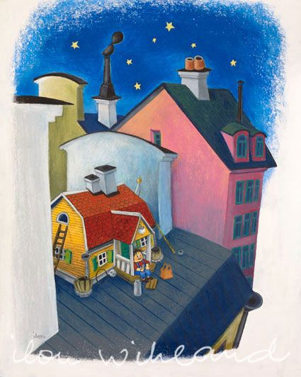 """""""This is where I live"""" by Ilon Wikland"""