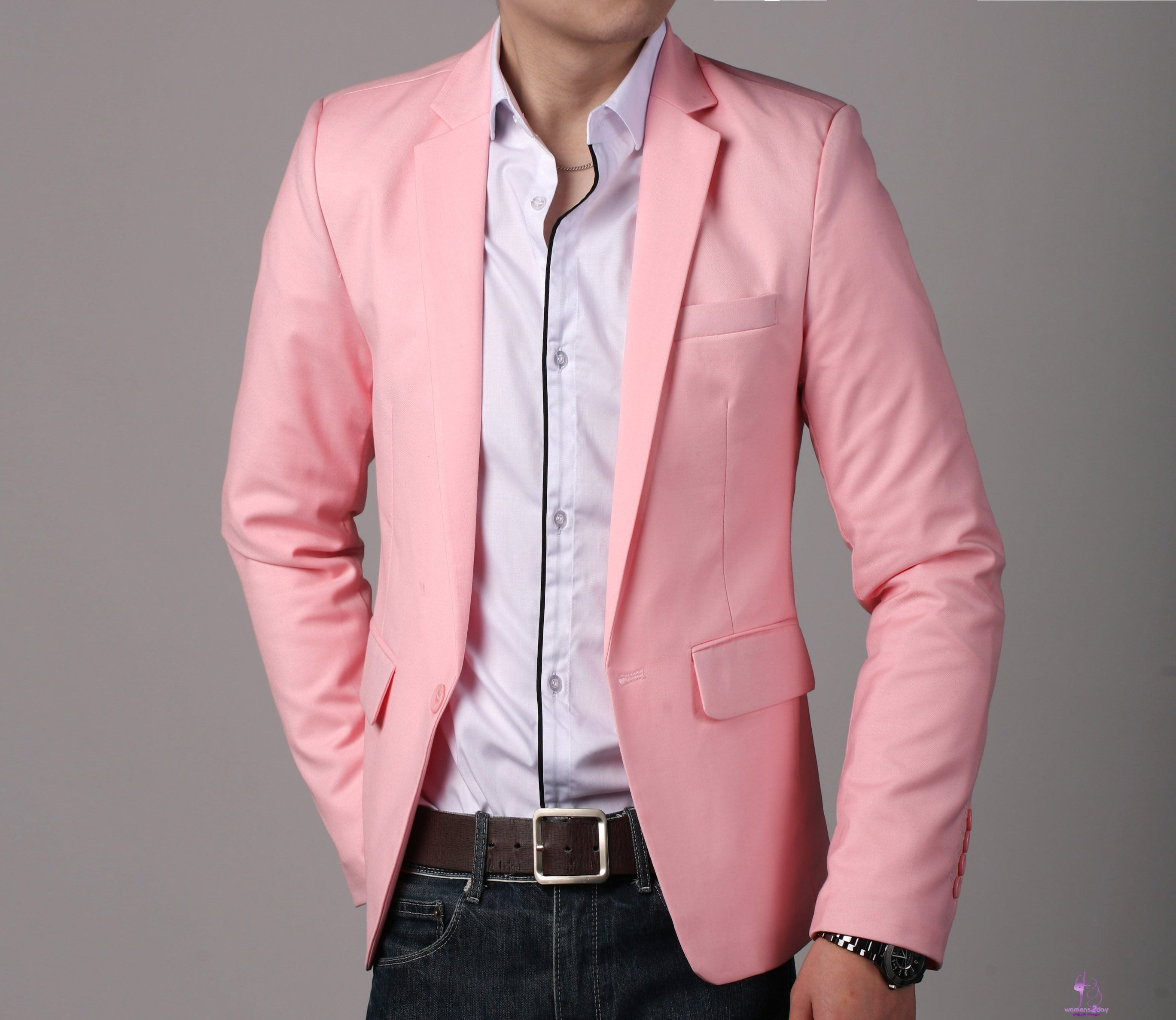 Natural skinny men casual blazer 2013 - attractive blazer 2013 ...