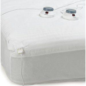 Amazon Com Soft Heat Electric Warming Mattress Pad Queen Home Garden Mattress Pad Heated Mattress Pad Mattress