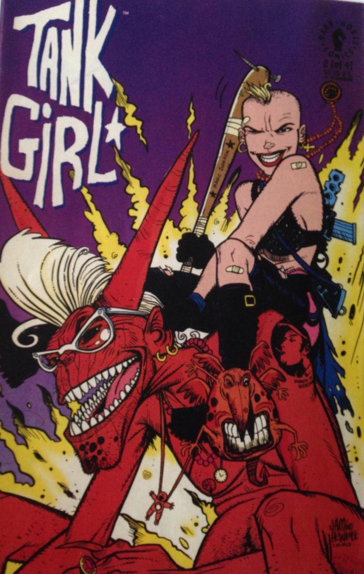 Tank Girl Quotes Tank Girl Dark Horse Comics  Dark Horse Comics Mignola  One