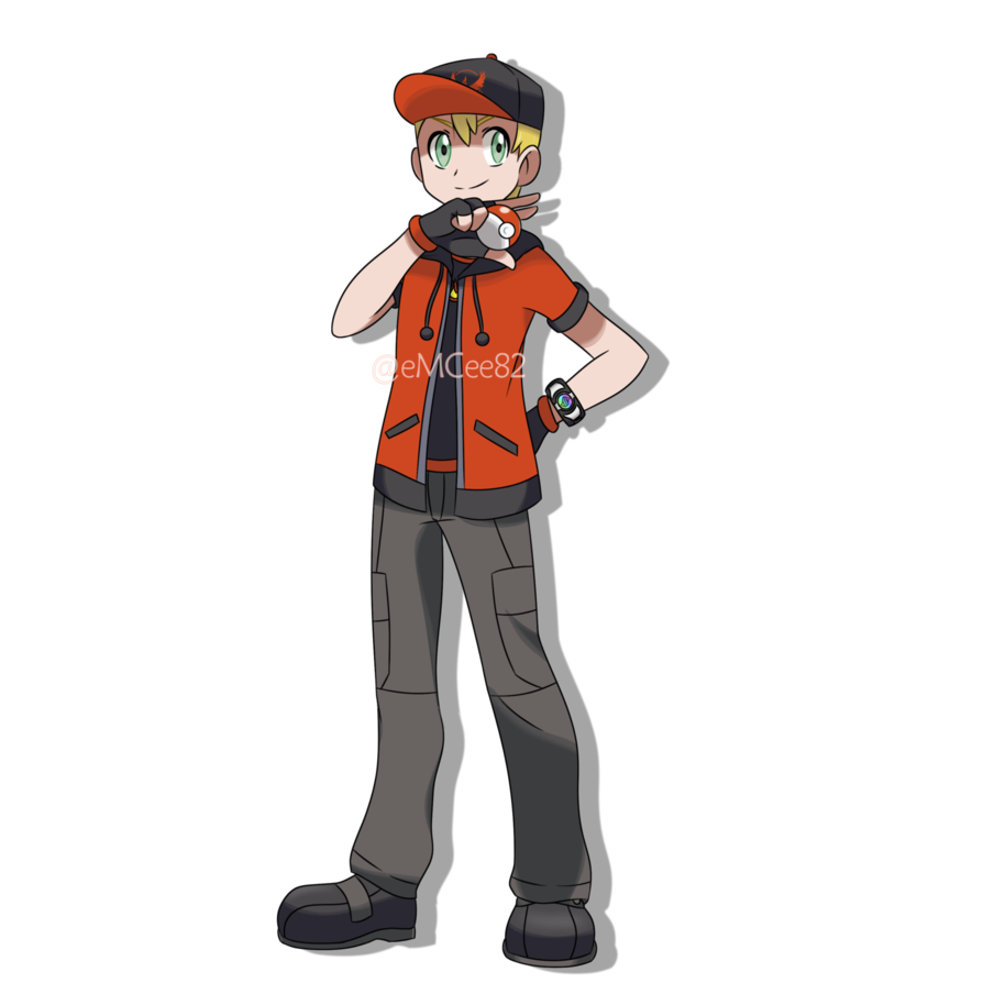 Request Trace Pkmn Trainer By Emcee82 Deviantart Com On Deviantart Pokemon Rpg Pokemon Trainer Costume 151 Pokemon