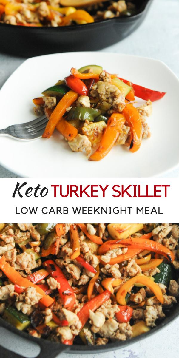 Keto Turkey Skillet - Low Carb Weeknight Dinner images