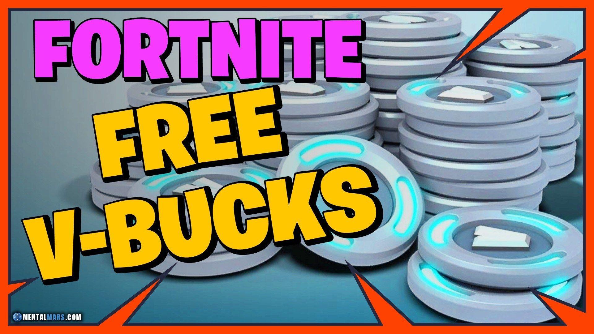 How to get free vbucks fortnite no human verification