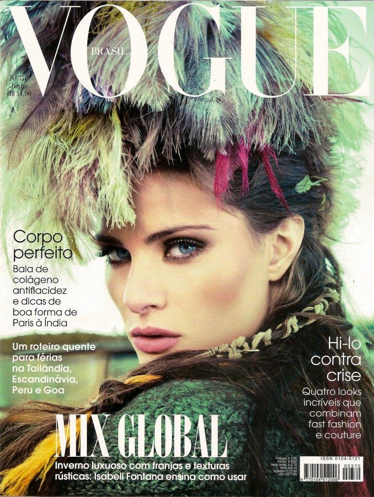 Umatrama Natural with Isabeli Fontana for Vogue Brazil