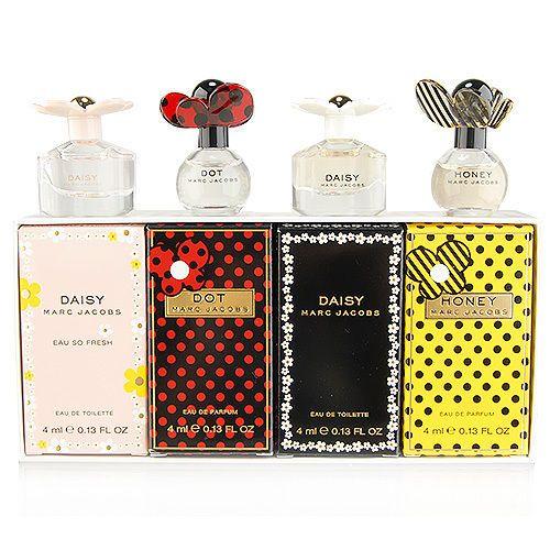 4 pcs marc jacobs fragrances daisy honey dot eau de parfum. Black Bedroom Furniture Sets. Home Design Ideas