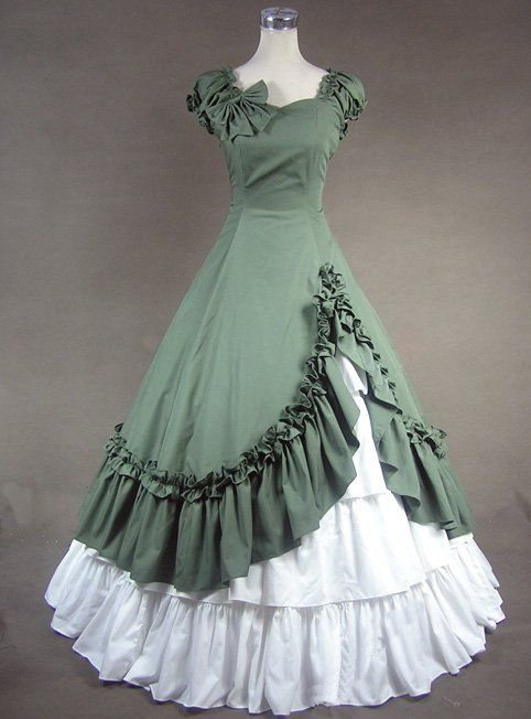 ce057251f4 This dress reminds me with Gone With the Wind. | My style. | Dresses ...