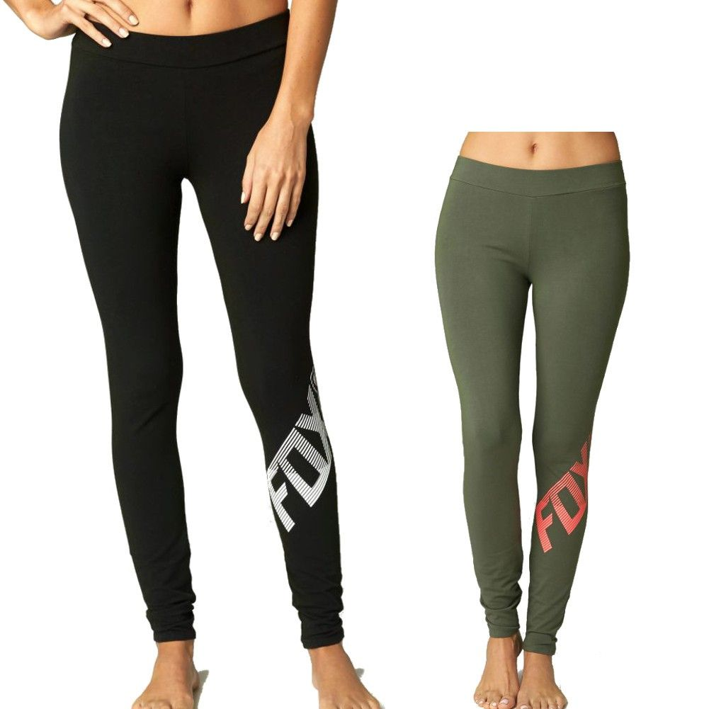 3d4cdfd6a8731 Fox Racing Side Swiped Womens Ladies Casual Lounge Pant Legging ...