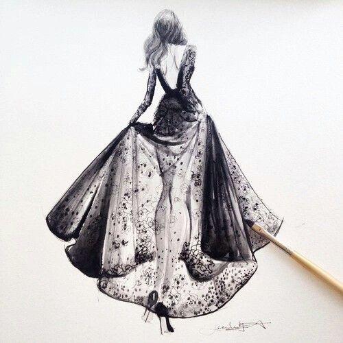 Fashion drowing