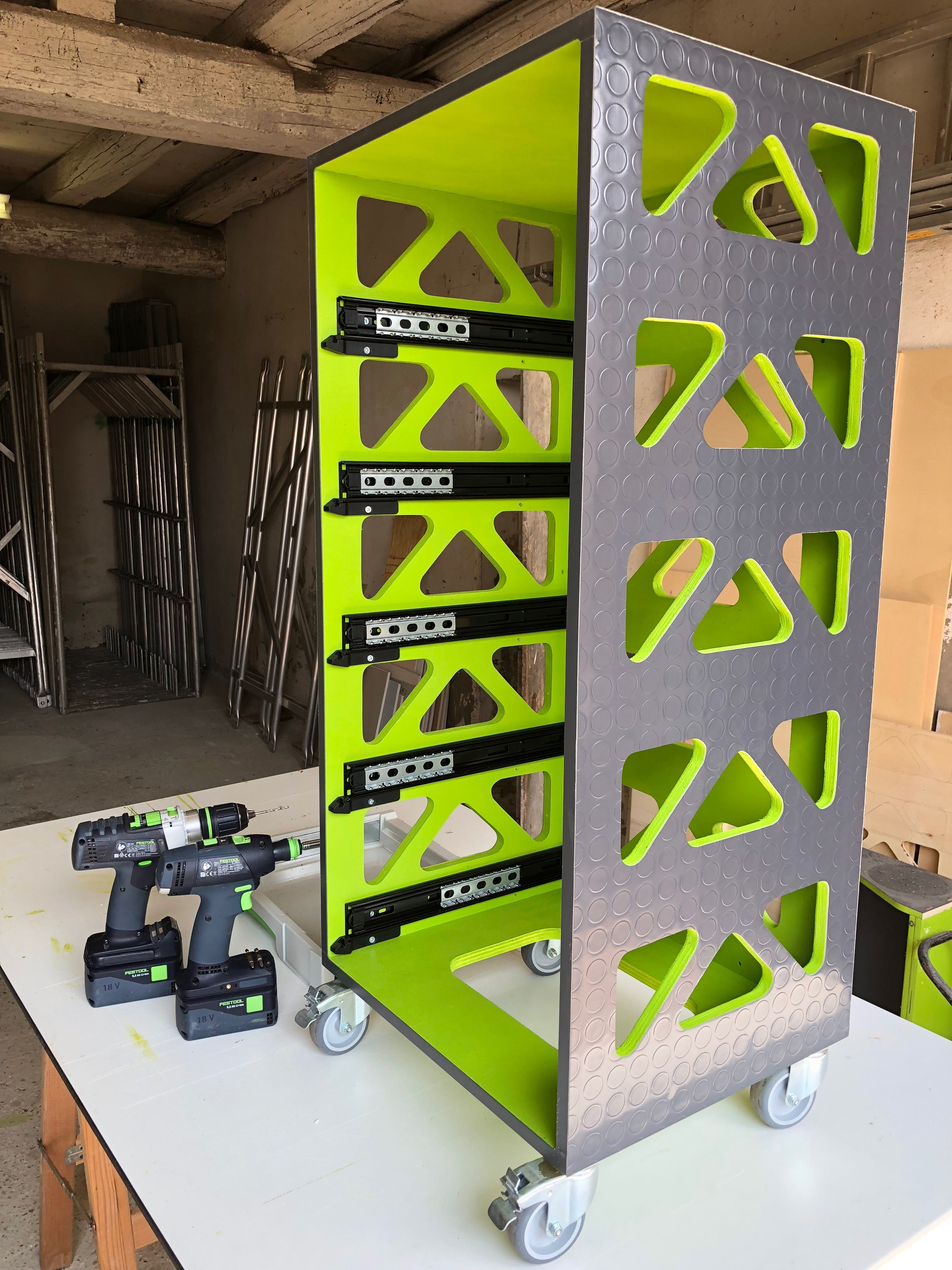 Pin By Jore 83 On Festool Systainer Diy Garage Storage Workshop Storage Festool Systainer