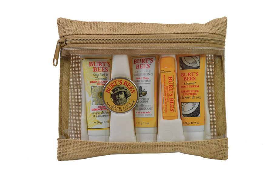 Burts bees all natural personal care kits from aloe up