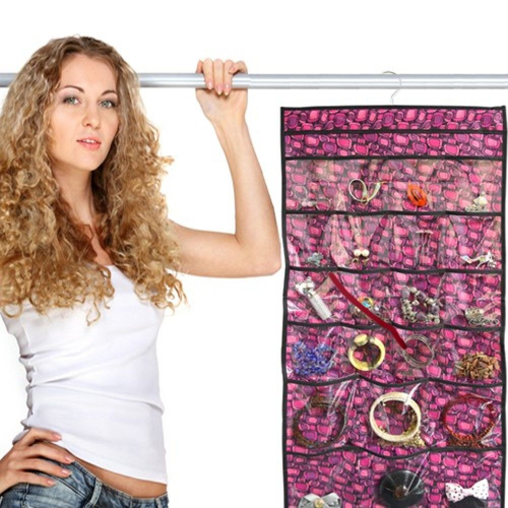 Hanging Jewelry Organizer Only 3.99 + FREE Shipping