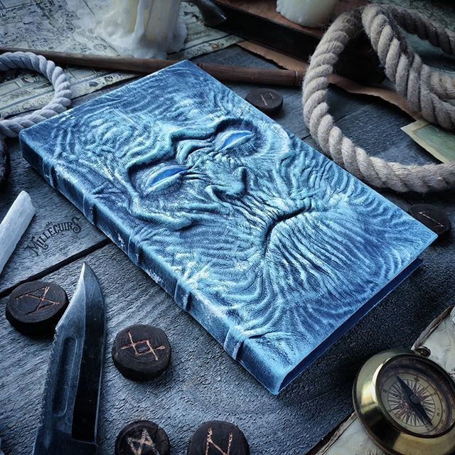 Handmade Leather Journals of Mille Cuirs Leather journal