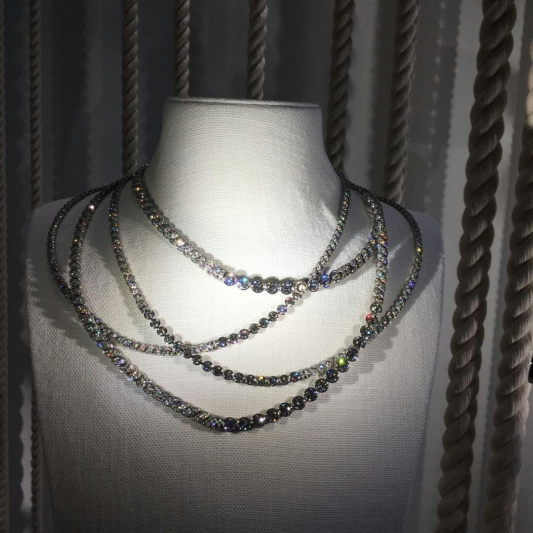 Ropes diamonds and otherwise flyingcloud collection inspired by