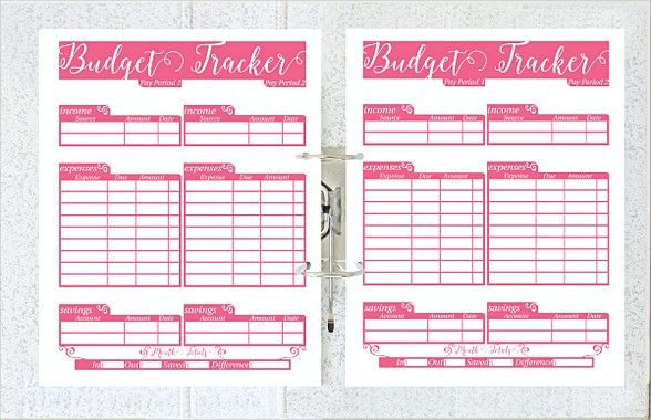 Printable Daily Budget Planner Template , Daily Budget Template ...