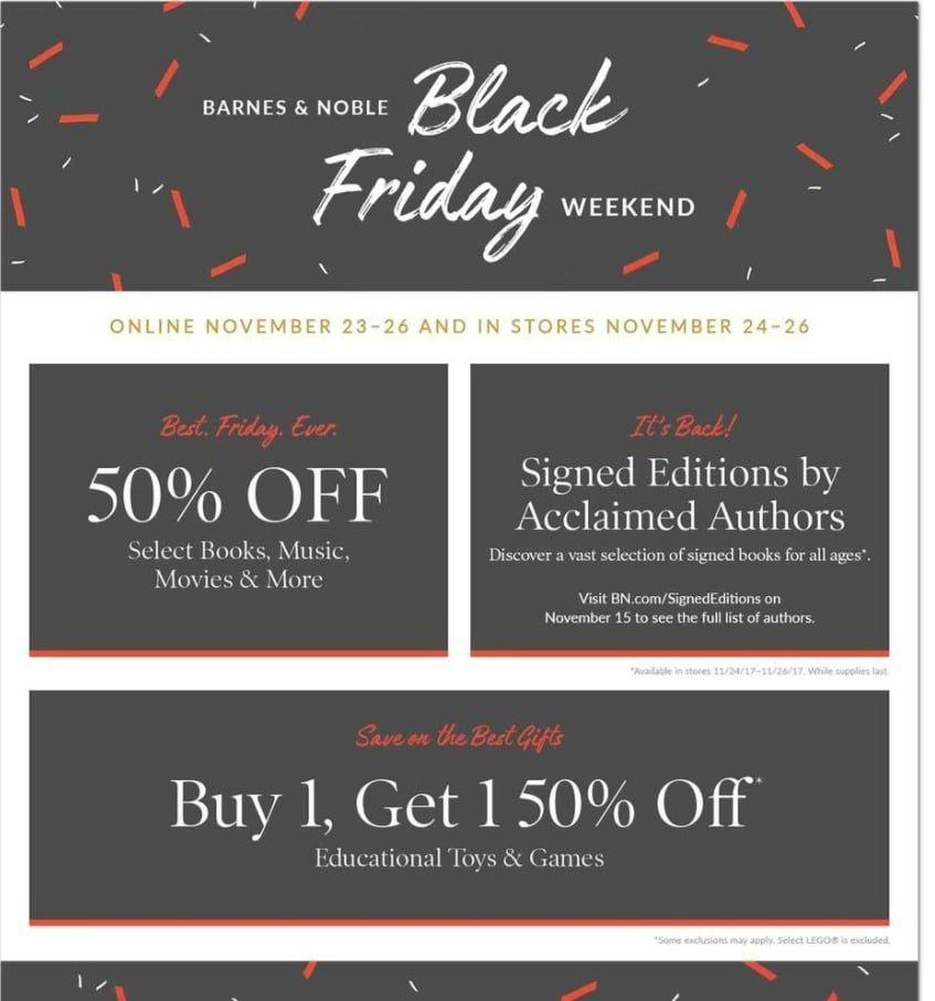Barnes noble black friday deals 2017 black friday ads