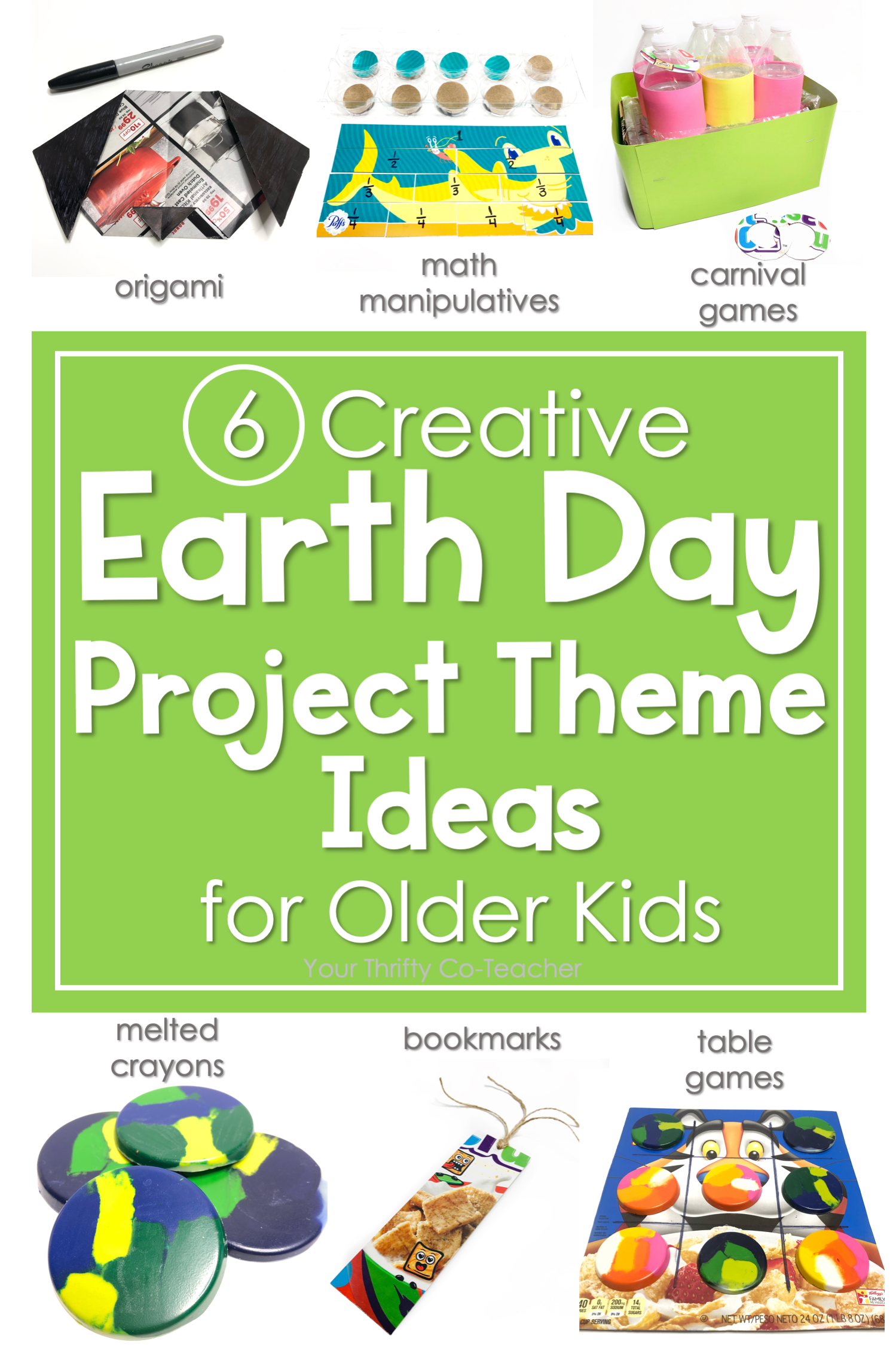 Earth Day Projects For Older Kids In
