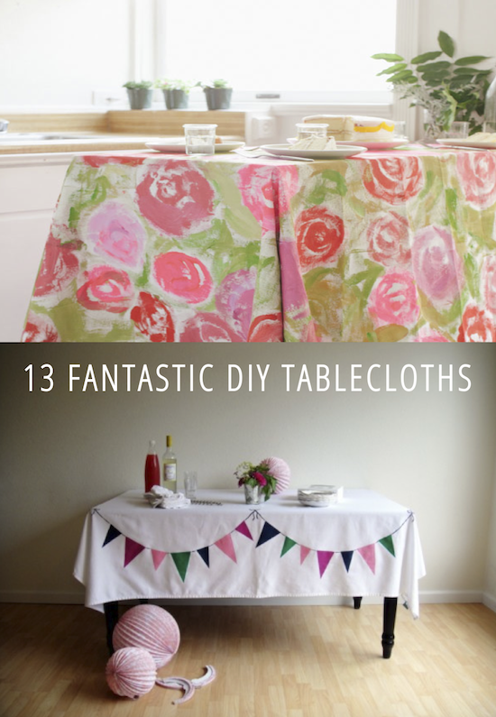 13 fantastic diy tablecloths craft sewing projects and crafty