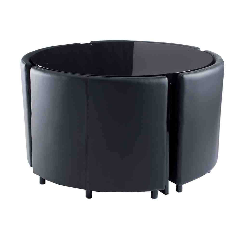 Hideaway Dining Table And Chairs Black Dining Table Set Corner