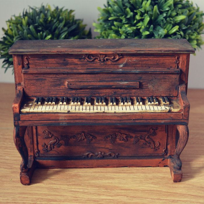 Find More Information about American vintage home decoration piano ...