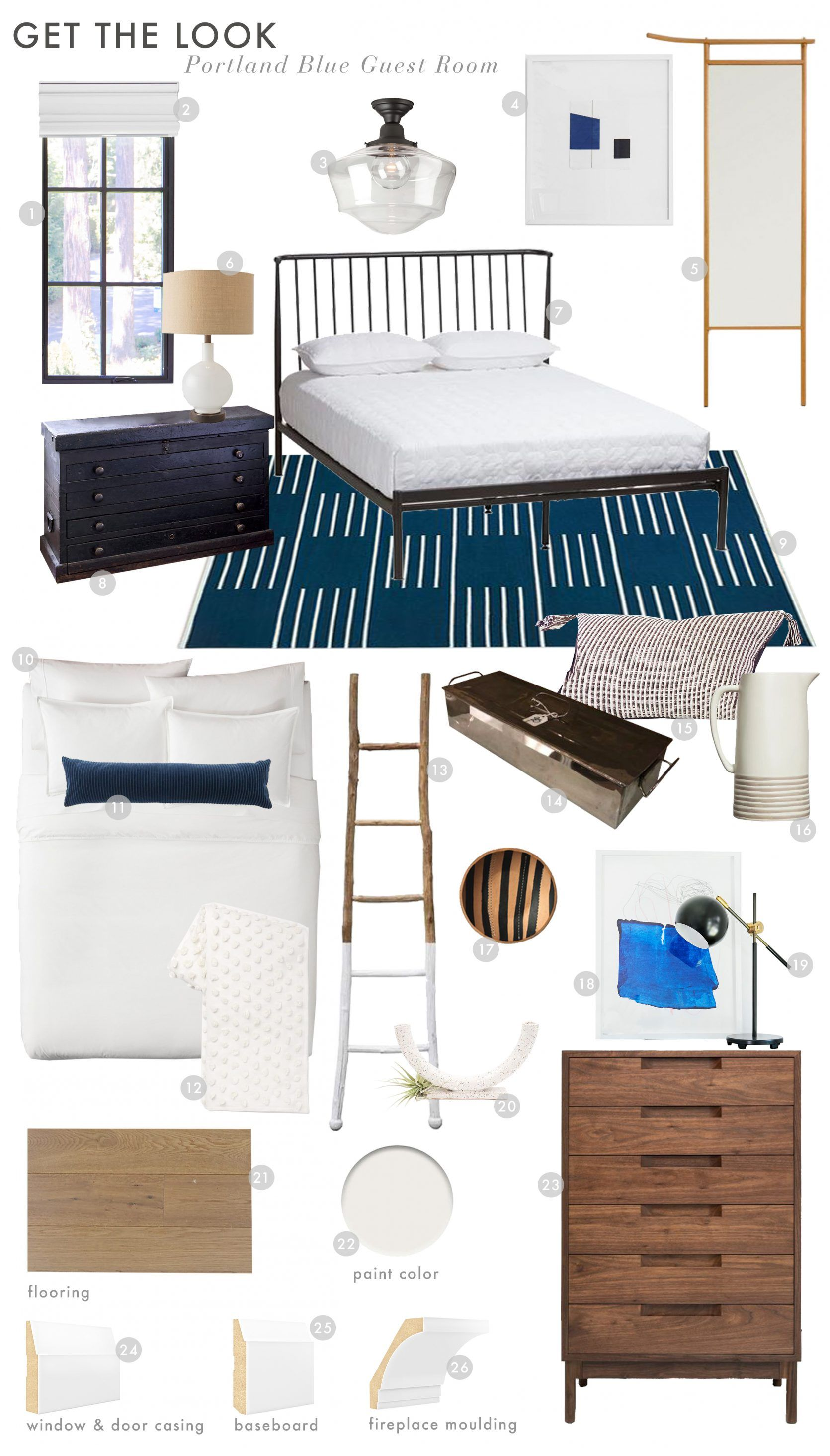 14 Rules To Follow To Design Style The Perfect Bedroom Romantic Bedroom Decor Guest Room Decor Guest Room Paint