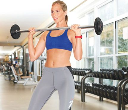 """Sculpt Lean Muscle  """"As you age, you start to lose some muscle mass,"""" says Geralyn Coopersmith, an exercise physiologist and national director of the Equinox Fitness Training Institute. """"Lifting weights helps you maintain and build on what you have, so your metabolism stays high."""""""
