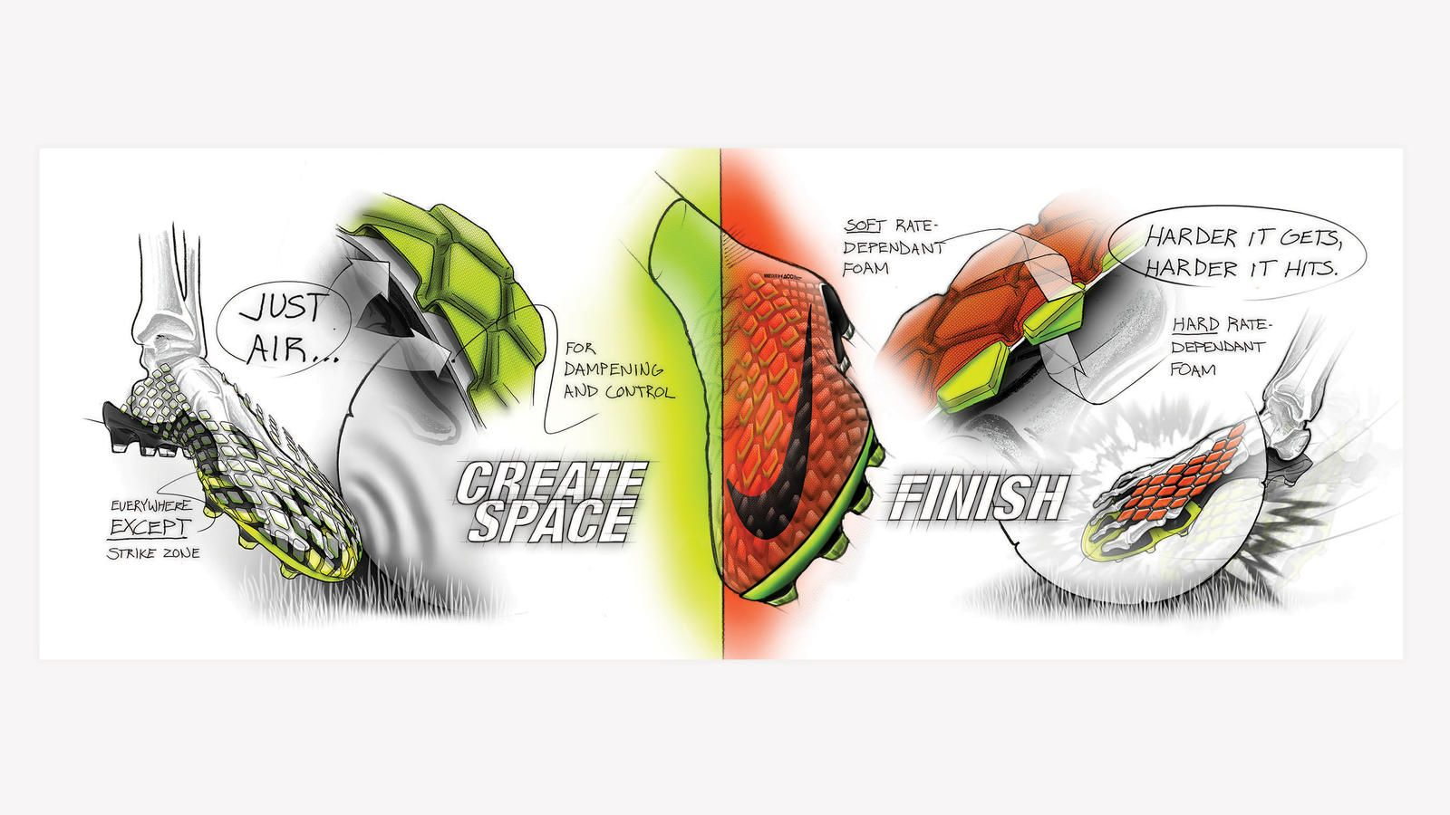 quality design 02eec 2527c From sketch to scoring machine, Nike unveils the new Hypervenom 3. The boot  will