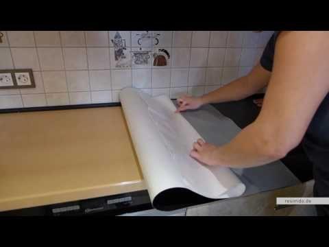 resimdode Arbeitsplatte bekleben - YouTube عمل Pinterest