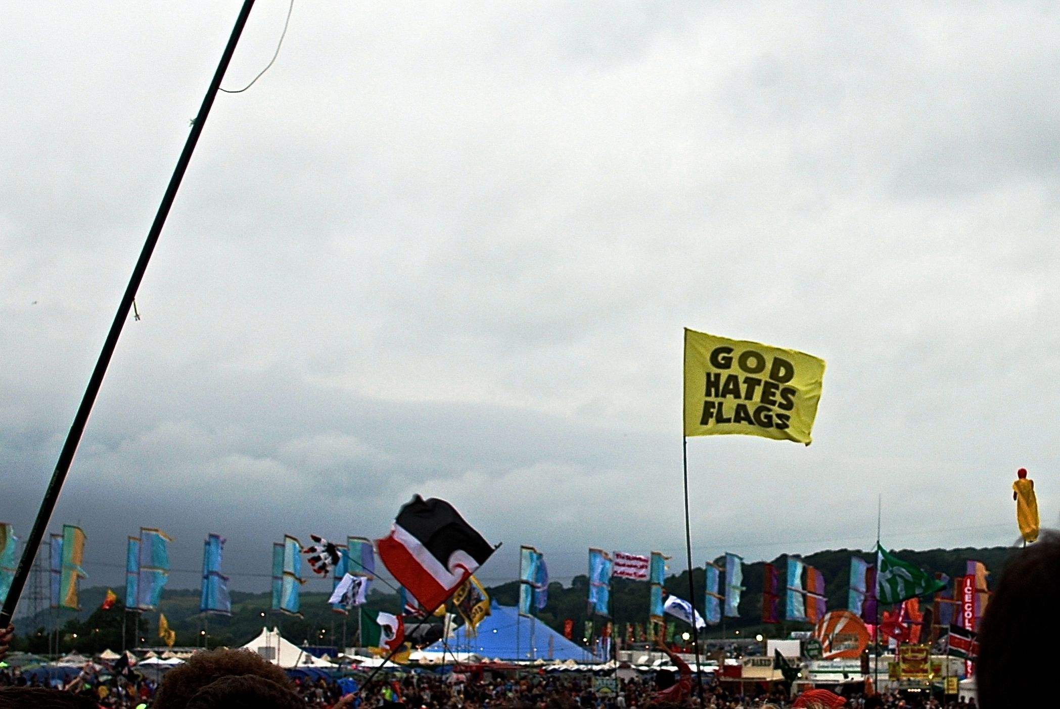 The Best Flag I Saw At Glastonbury On The Weekend Internet Funny Best Flags Funny Sites