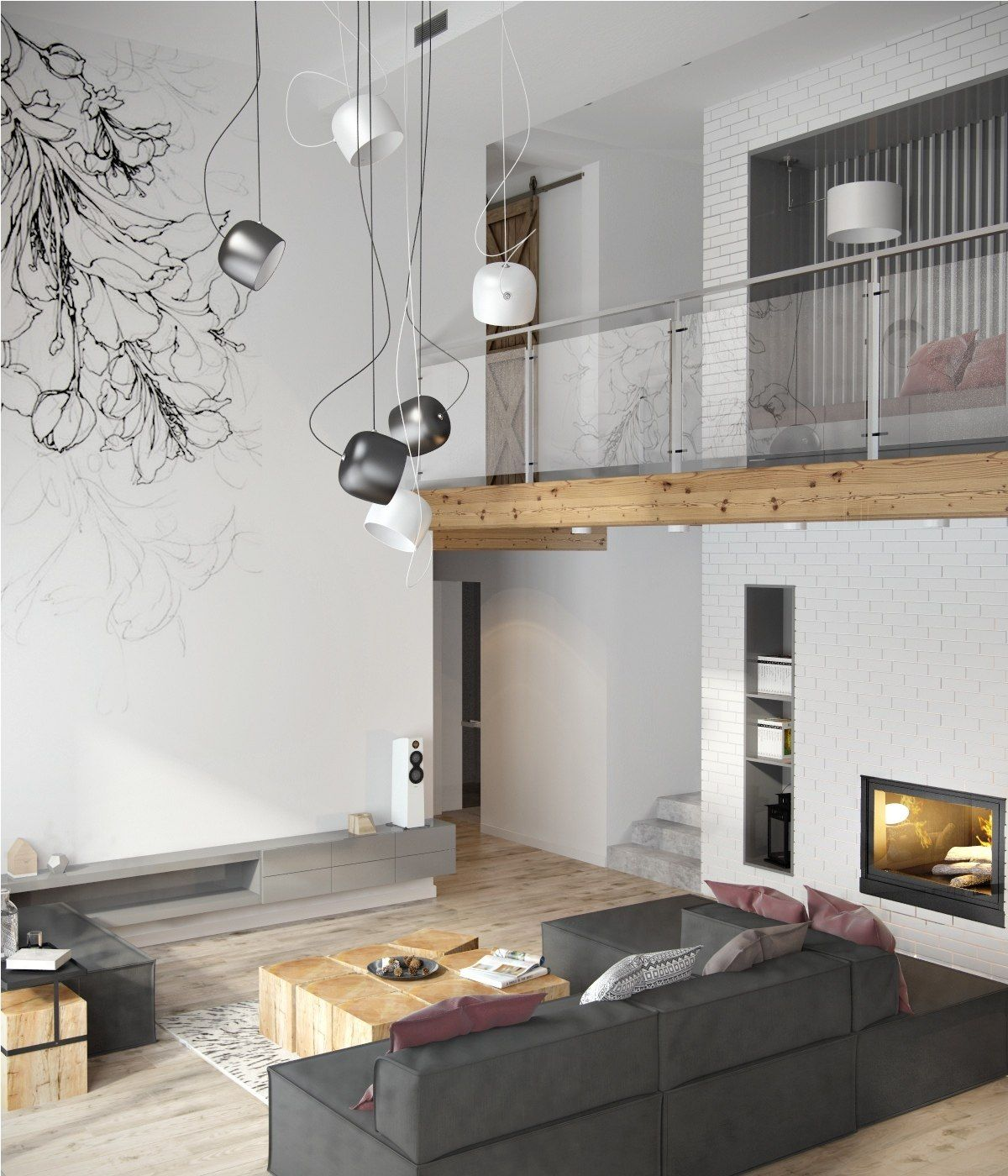 Minimalist Apartment Decorating Ideas With Gray Color