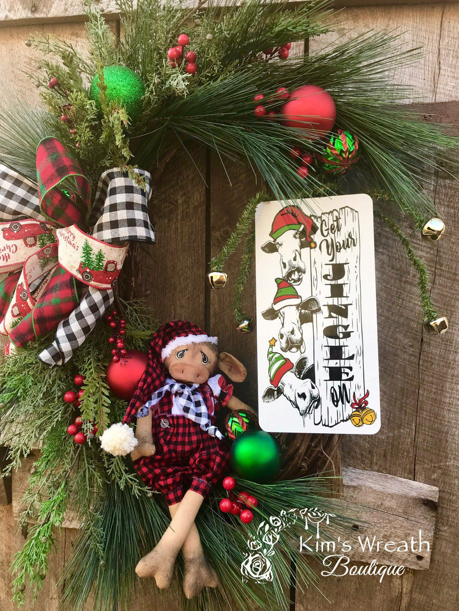 Excited To Share This Item From My Etsy Shop Christmas Wreath