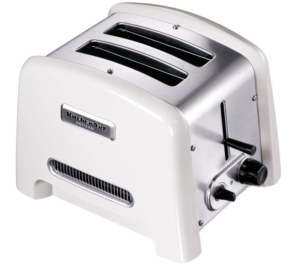 Kitchenaid Artisan Toaster Inkl Aufsatze 850 1 700w Qvc De Kuchenhilfe Kitchenaid Toaster Kuche Accessoires