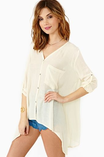 Permanent Vacation Blouse in Sale at Nasty Gal