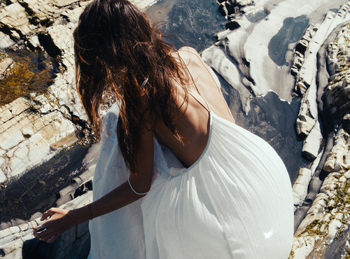 Searching Magic | via Tumblr fashion  tanned  #summer -  #boho -  dress -  holidays  #hippie