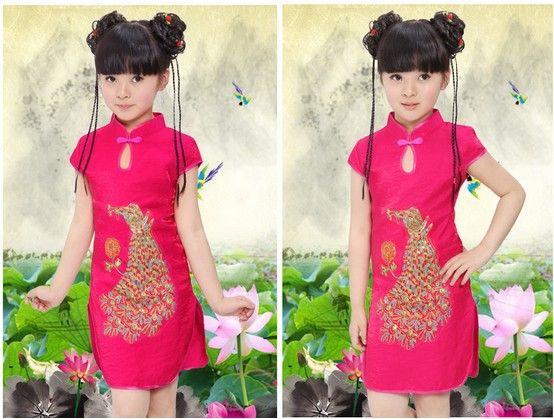 Chinese Dresses Kids Disfraz De Chinita Vestidos Para Niñas Disfraz Japonesa