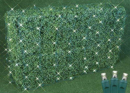Amazon Com Commercial Grade Led Net Light Set 4 X 6 Warm White Green Wire 100 Light Outdoor In 2020 Net Lights Incandescent Christmas Lights Christmas Lights