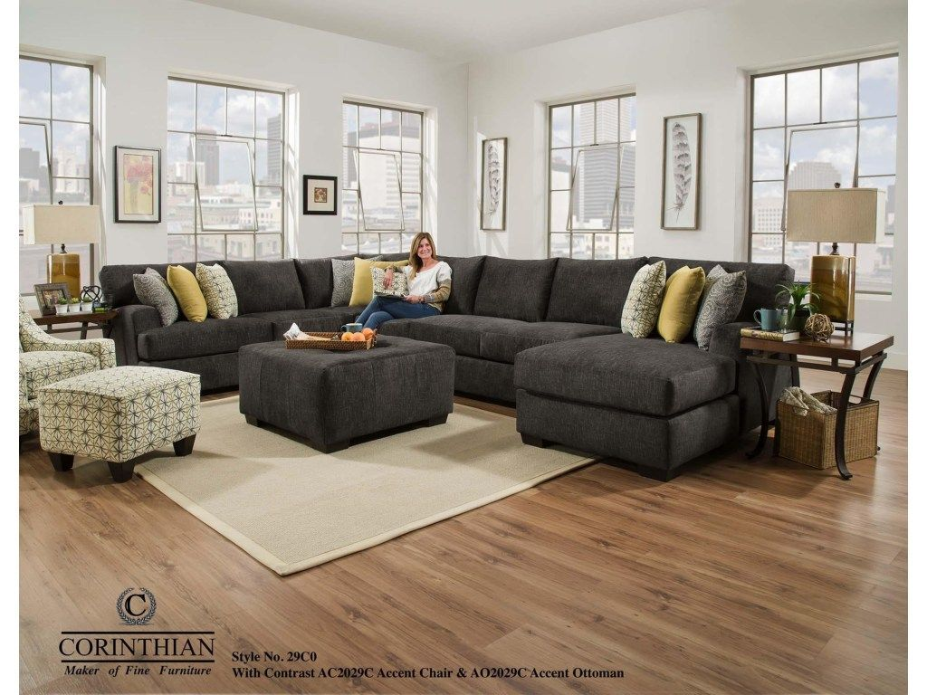 casual room classic sofa sectional brown sectionals rc willey furniture fabric store piece view jsp living rcwilley orion