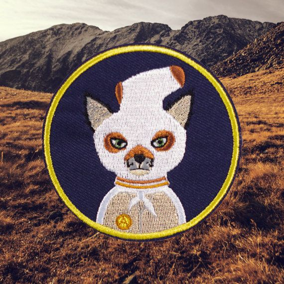 Fantastic Mr Fox Ash Patch Free Shipping US por ForTheLoveOfPatch