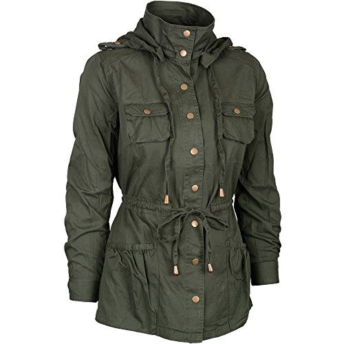 Womens Versatile Lightweight Long Button Down Anorak Jacket with Removable Hood Green Medium Keebon Apparel http://www.amazon.com/dp/B00N9RVFCI/ref=cm_sw_r_pi_dp_085uub06ATF5Z