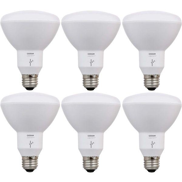 Sylvania Osram Lightify Smart Home 65w Tunable White Led Flood Light 6 Pack Smart Home Automation Led Flood Lights Home Automation