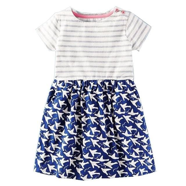 043ad8adc Girls Summer Dress Baby Girl Clothes Vestidos 2018 Brand Kids ...