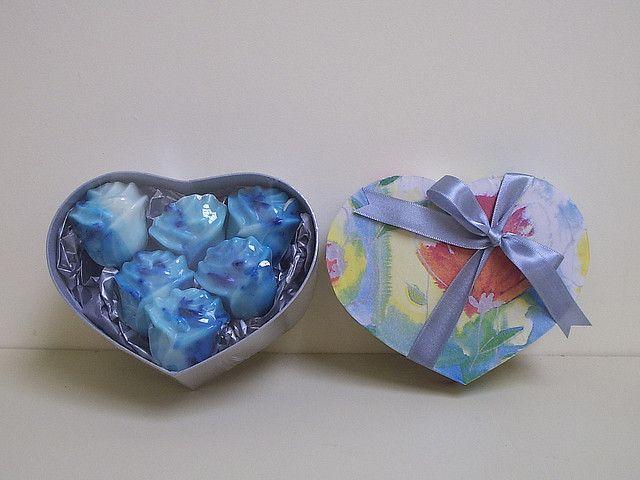 Kit caixa com sabonete glicerinado by arteemcaixas, via Flickr