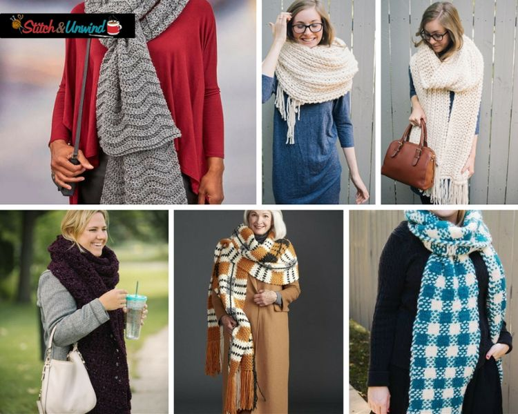 Photo of Fall Trend Alert: Crochet and Knit Super Scarves – Stitch and Unwind
